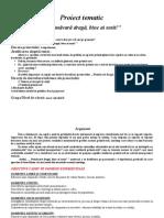 Proiect Tematic Primavara Doc