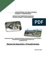 Manual de Operaciones CONAGUA