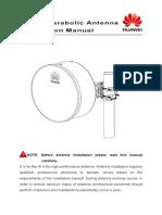 0.6m Antenna Installation Manual