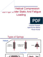Helical Spring Design - Static Load