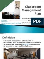 classroom management plan (changes) - holt