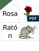 Targetas Palabras Con R