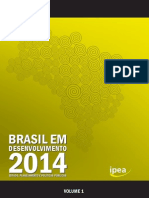 Brasil Em Desenvolvimento 2014 Vol. 1