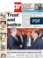 The Star Malaysia Cover (18 April 2008)