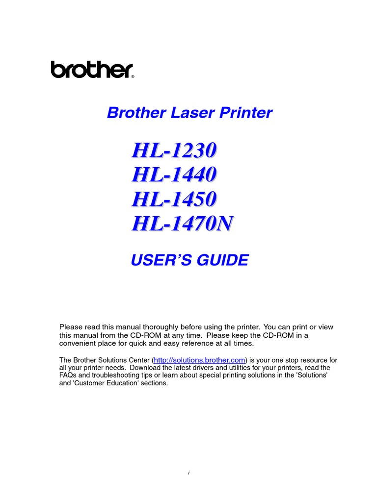 Brother hl 1450 driver for windows 7.