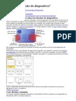 Qué Es Un Diseño de Diapositiva
