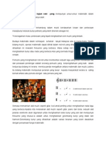 Matematik Sebagai Budaya Berterusan (Muzik)