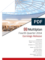 Earnings Release 4Q14