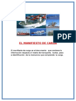 El Manifiesto de Carga (ECUADOR)