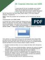 Creando Informes Con SSRS 2008 r2