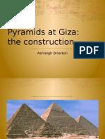 construction of pyramids