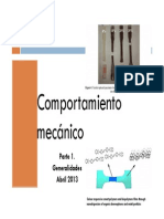 COMPORTAMIENTO MECANICO