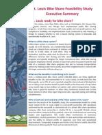 Bike Share Feasibility Study Executive Summary