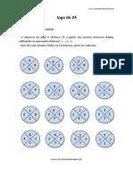 Jogo Do 24 Para Imprimir