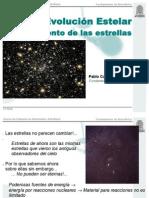 El nacimiento de las estrellas