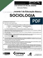 Ceperj 2010 Seduc Rj Professor Sociologia Prova