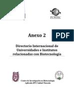 Directorio Nacional investigación