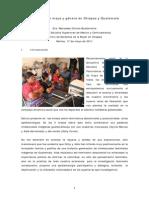 Cosmovision Maya y Genero en Chiapas y Guatemala