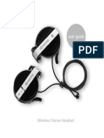 Kyocera Streo Headphones Manual