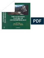 The Scientific Nature of Geomorphology