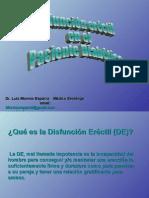 Disfunción eréctil en el paciente diabético