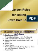 SLB Tools Golden Rules