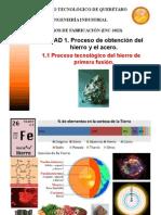 2 Extracción del Mineral de Hierro U1 1.1 PF