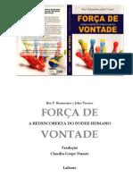 Força de vontade - Roy F Baumeister e John Tierney.pdf