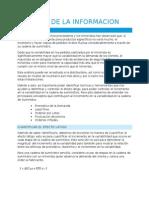 Cap 5. El Valor de La Informacion