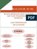 Lady PermatA sari 08121002008 Energi