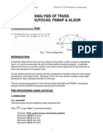 Analysis Of Truss Using Autocad Femap Algor.pdf