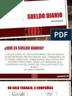 Sueldo Diario Presentacion