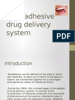 Mucoadhesive drug delivery system