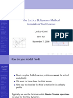 The Lattice Boltzmann Method - Computational Fluid Dynamics