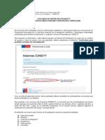 Instructivo Currículum Investigador FINAL