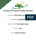 Caracteristicas y objetivos de la información contable