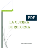 La Guera de Reforma