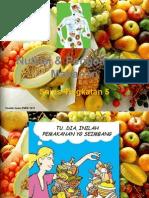 menilai kepentingan amalan pengambilan nutrisi dan pemakanan yang baik