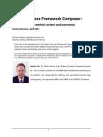 Eclipse Process Framework Composer Part-2