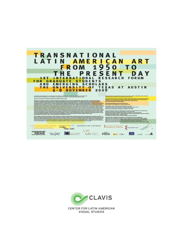 2009 Forum Papers Austin UT | Latin America | Archive