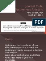 cost effectiveness analysis