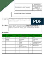 Sw-fr-hse-020 Procedimiento de Fumigacion