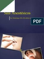 Sais Anestésicos Em Power Point