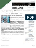 19-02-15 Piden Recursos Federales Para Obra de Nuevo León