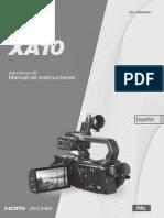 XA10 Instruction Manual ES