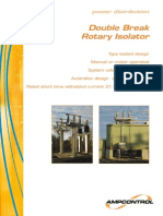 Double Break Rotary Isolator Brochure