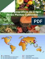 Centros de Origen de Las Plantas Cultivadas