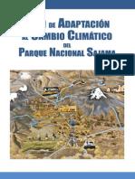 Plan de Apadtacion Alcambio Climatico Parque Sajama