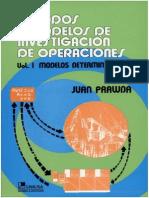 Metodos y Modelos de Investigacion de Operaciones Vol. 1 - Juan Prawda