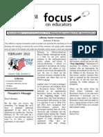 February 2015 Focus